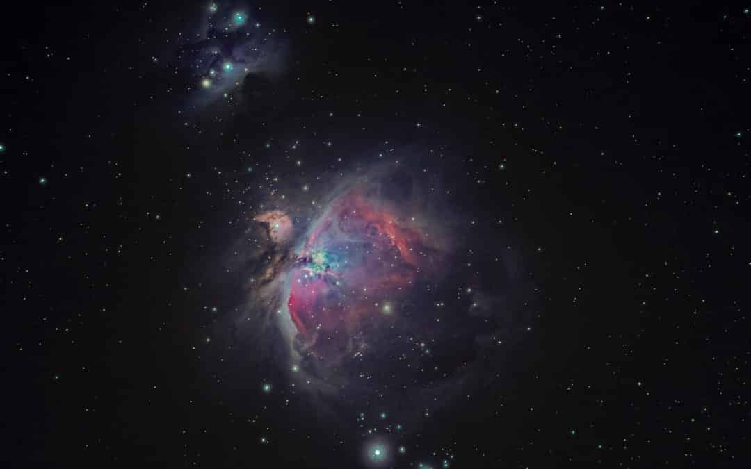Fotografía Nocturna Más Allá del Centro Galáctico de la Vía Láctea
